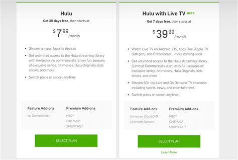 all about hulu pricing features content and interface