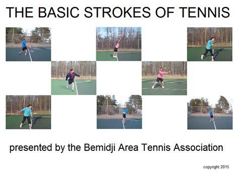 """the Basic Strokes Of Tennis"" Video With Membership  News  News  Bemidji Area Tennis Association"