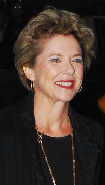 hairstyles annette bening short curly hairstyle
