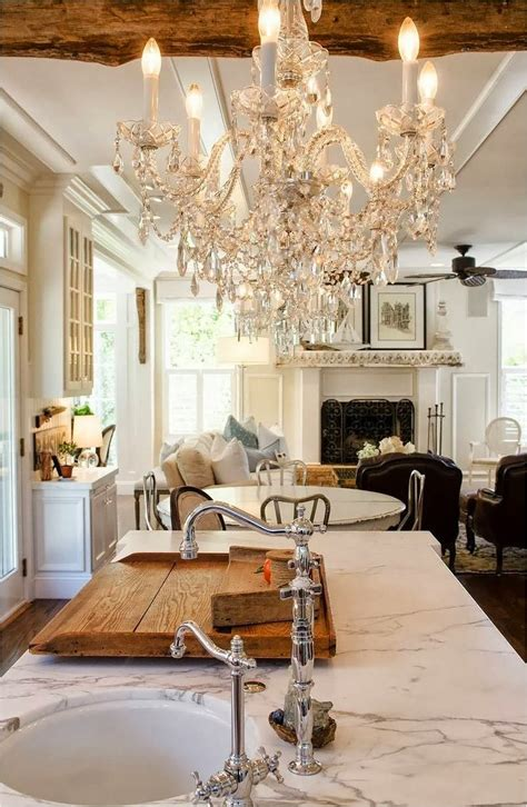 places  hang  chandelier   home