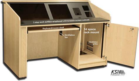 Esl Desk by Esl Pd60 4 Presentation Desk Ksipro