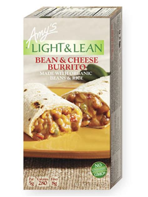 S Light And Lean by S Light Lean Bean Cheese Burrito Review