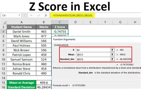 excel score table calculate examples contents