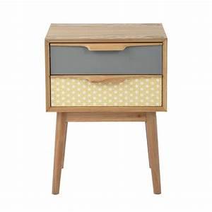Table De Nuit Maison Du Monde : tables tiroirs and rencontr on pinterest ~ Teatrodelosmanantiales.com Idées de Décoration