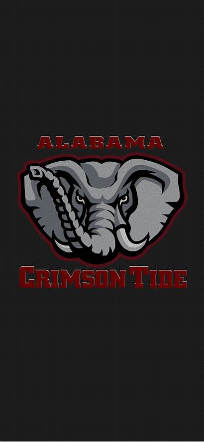 Alabama Tide Crimson Football Iphone Roll Logos