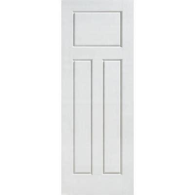 3 panel interior doors home depot masonite glenview smooth 3 panel craftsman hollow