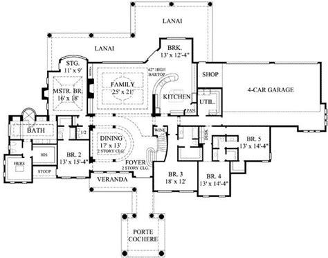 7 bedroom floor plans 7 bedroom house plans