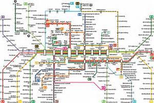 Munich Metro Map - Munich Germany • mappery