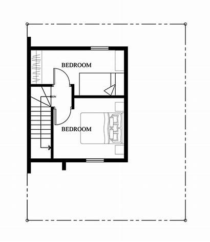 Floor Plan Second Bedrooms Storey Plans Tiny