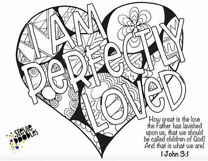 Coloring Pages Identity Christ Printable Christian Adult