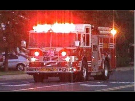 truck lights and sirens trucks responding best of 2012