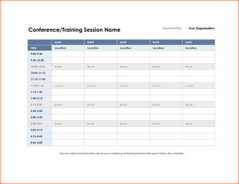 meeting schedule template meeting schedule template schedule template free
