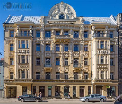 TOP 50 skaistākās jūgendstila dzīvojamās ēkas Rīgā ...