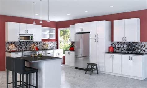 meubles cuisine blanc peinture cuisine avec meubles blancs 30 idées inspirantes