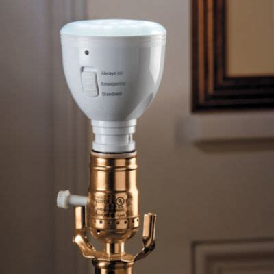 ascella rechargeable led light bulb stays lit when the