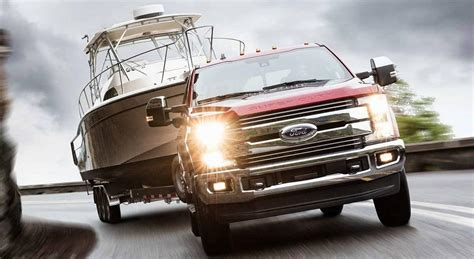 ford super duty max towing capacity