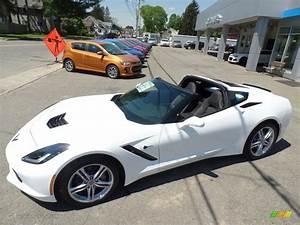2017 Arctic White Chevrolet Corvette Stingray Coupe ...