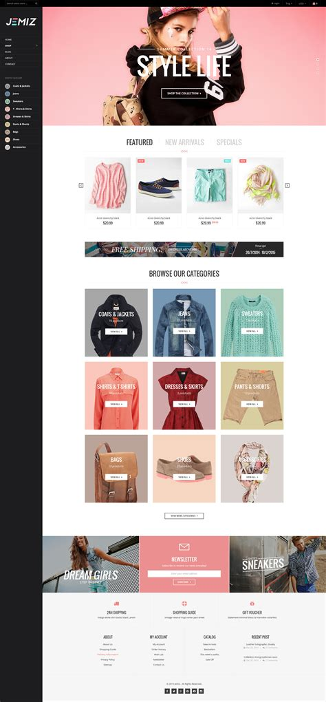 Shopify Themes 10 Best New Shopify Themes For Selling Clothing Best