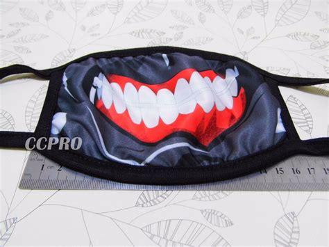 mascara impresa de boca tokyo ghoul kaneki ken