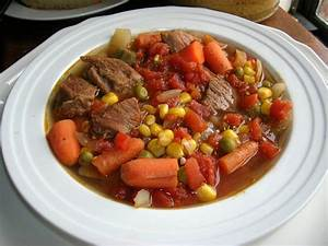 Vegetable Beef Soup - The Southern Lady Cooks