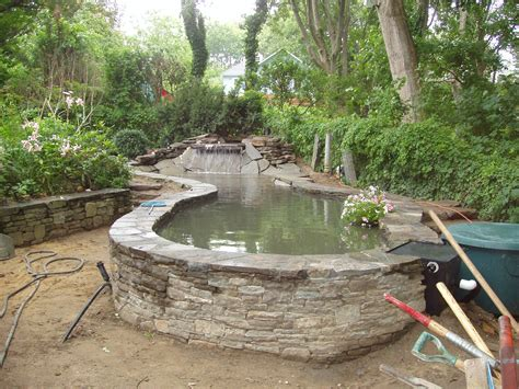 above ground koi ponds above ground water gardens on pinterest koi ponds ponds and pond ideas