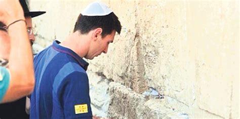 Lionel Messi Kudüs'te Ağladı!  Futbol Ve Spor Haberleri