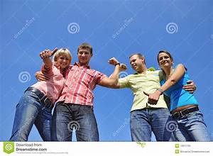 Group Of Four Friends Royalty Free Stock Photo - Image ...