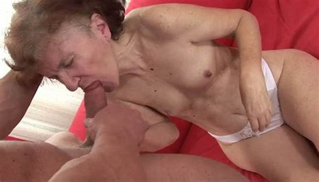 #Old #Nanny #Gives #Good #Deepthroat #Blowjob #To #One #Dude #Living