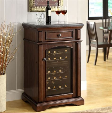 marble countertops single door wood thermostatic electronic wine cooler wine cabinet electronic