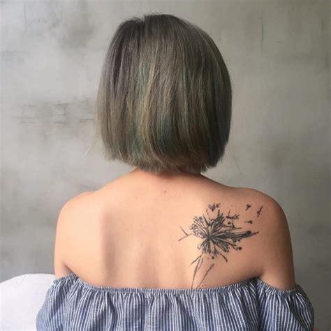 46 Coole Ruecken Tattoos Fuer Frauen by 1001 Inspirationen F 252 R Ein Cooles Pusteblume