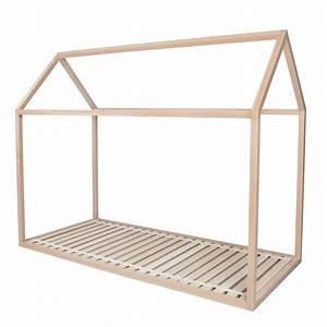 Lit Cabane 90x190 : lit cabane dreamer pour enfant structure en bois de h tre par blomkal ~ Teatrodelosmanantiales.com Idées de Décoration