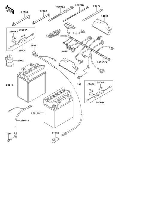 Kfx400 Wiring Diagram by 97 Kawasaki Prairie 400 Wiring Diagram Wiring Library