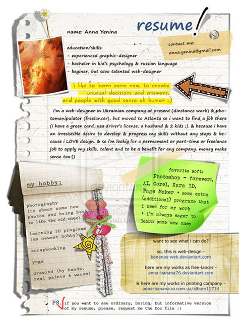 Unique Resume Design by Remarkable R 233 Sum 233 Designs Noupe