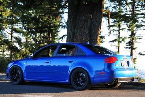 sprint blue audi rs  pictures mods upgrades