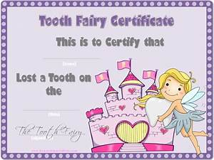 tooth fairy certificate With free printable tooth fairy certificate template