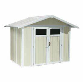 grosfillex utility 8ft x 7ft pvc shed gardensitecouk With abri de jardin pvc grosfillex