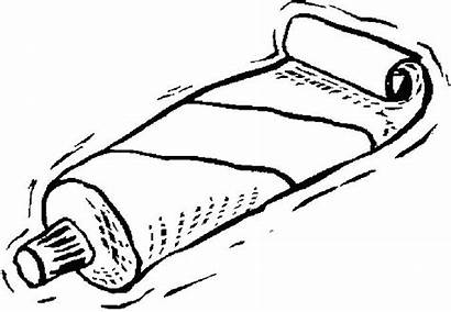 Ointment Coloring Tube Aid Kit Drawing Pages