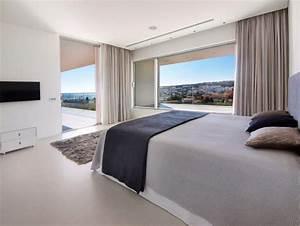 awesome maison de luxe moderne interieur images design With plan maison avec jardin interieur 8 une maison 224 la deco de luxe
