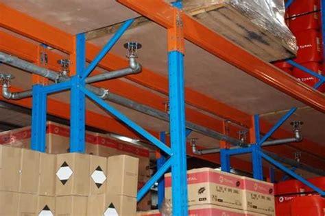 rack sprinkler systems alesayi storage systems