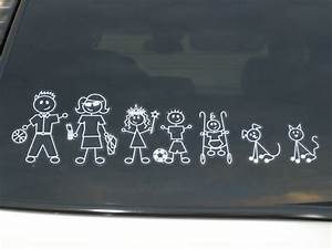 Basic Family Stickers Accessories