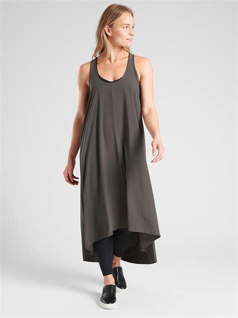 Athleta Presidio Dress in Gray - Lyst