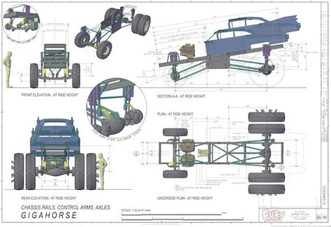Mad Max Engine Diagram the gigahorse chassis mad max fury road courtesy