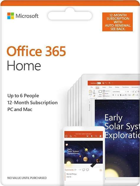 Office 365 Best Buy by Office 365 Home Up To 6 12 Month Subscription