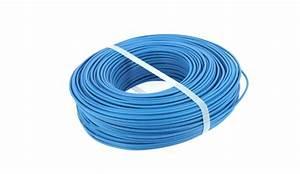 Section Fil Electrique : miguelez bobine de 100 m de fil lectrique 1 5 mm ~ Melissatoandfro.com Idées de Décoration