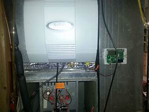 Aprilaire 700 Install In Rheem Air Handler With No Board