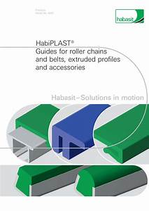 Wear Strips And Guides Habiplast