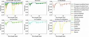 Climatology Of The Spectral Surface Emissivity Data From
