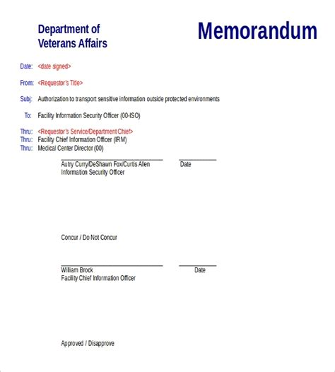 blank memo templates  sample  format