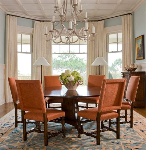 dining room curtains  create  atmosphere  perfect