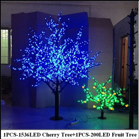 2meter led cherry tree 0 8meter 200leds fruit tree indoor